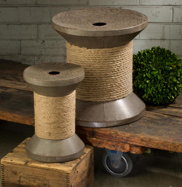 Spool Pedestal Set - Set of 2