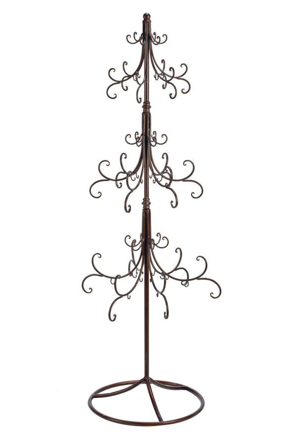 Extra Large Scroll Ornament Tree