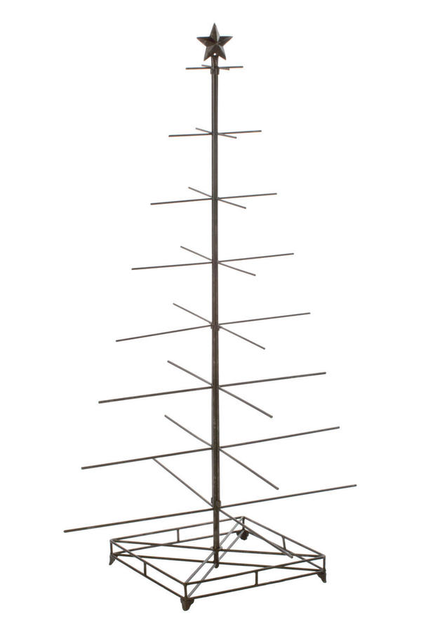 32 Arm Gunmetal Industrial Tree