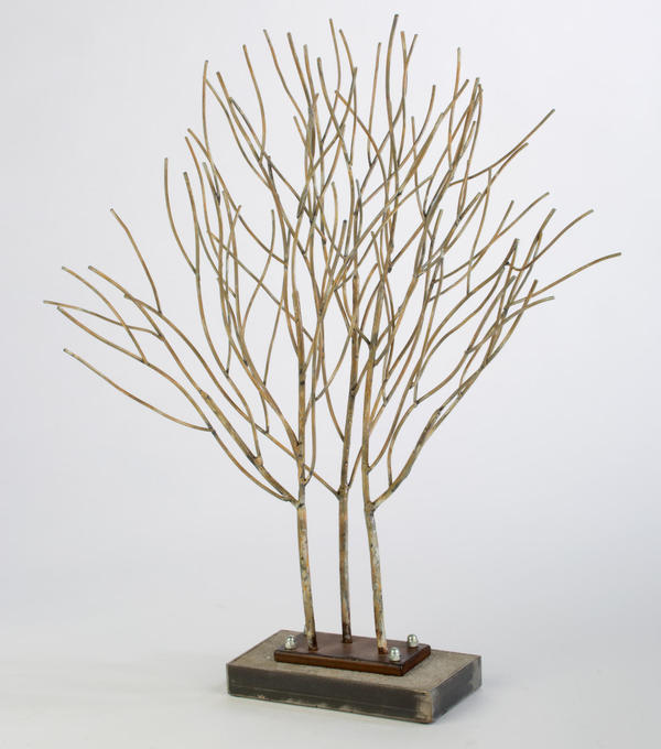 Metal Willow Display Tree