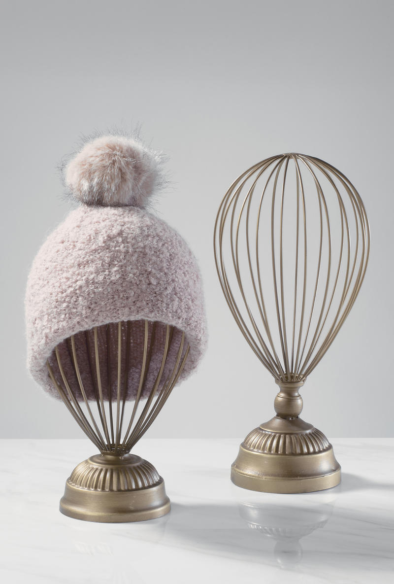 Balloon Wire Hat Stands Set of 2