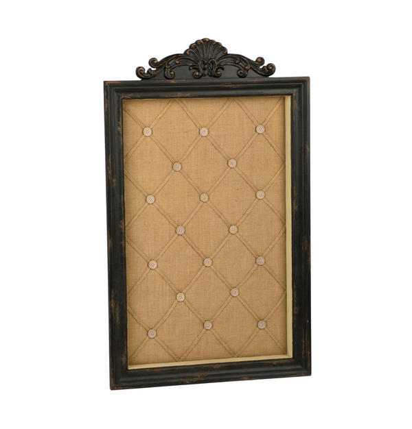 Antique Black Wall Memo Board