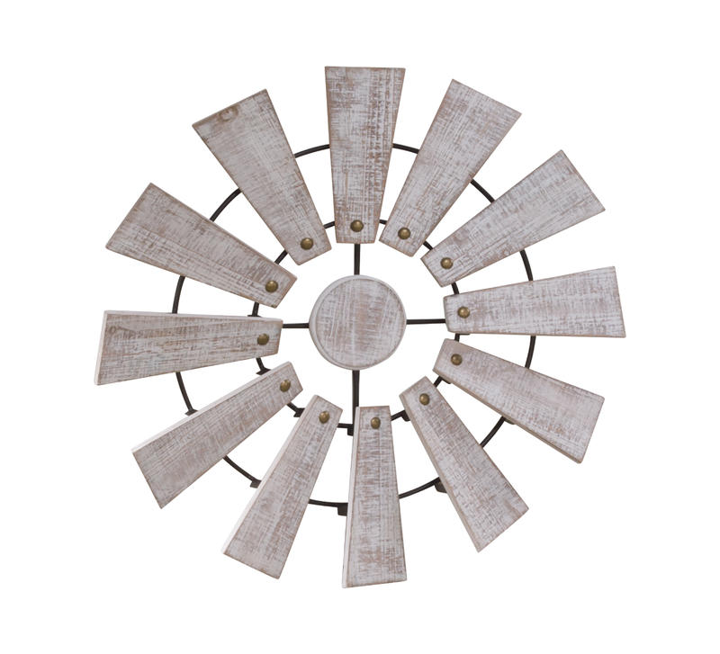 Farmhouse Windmill Wall Decor