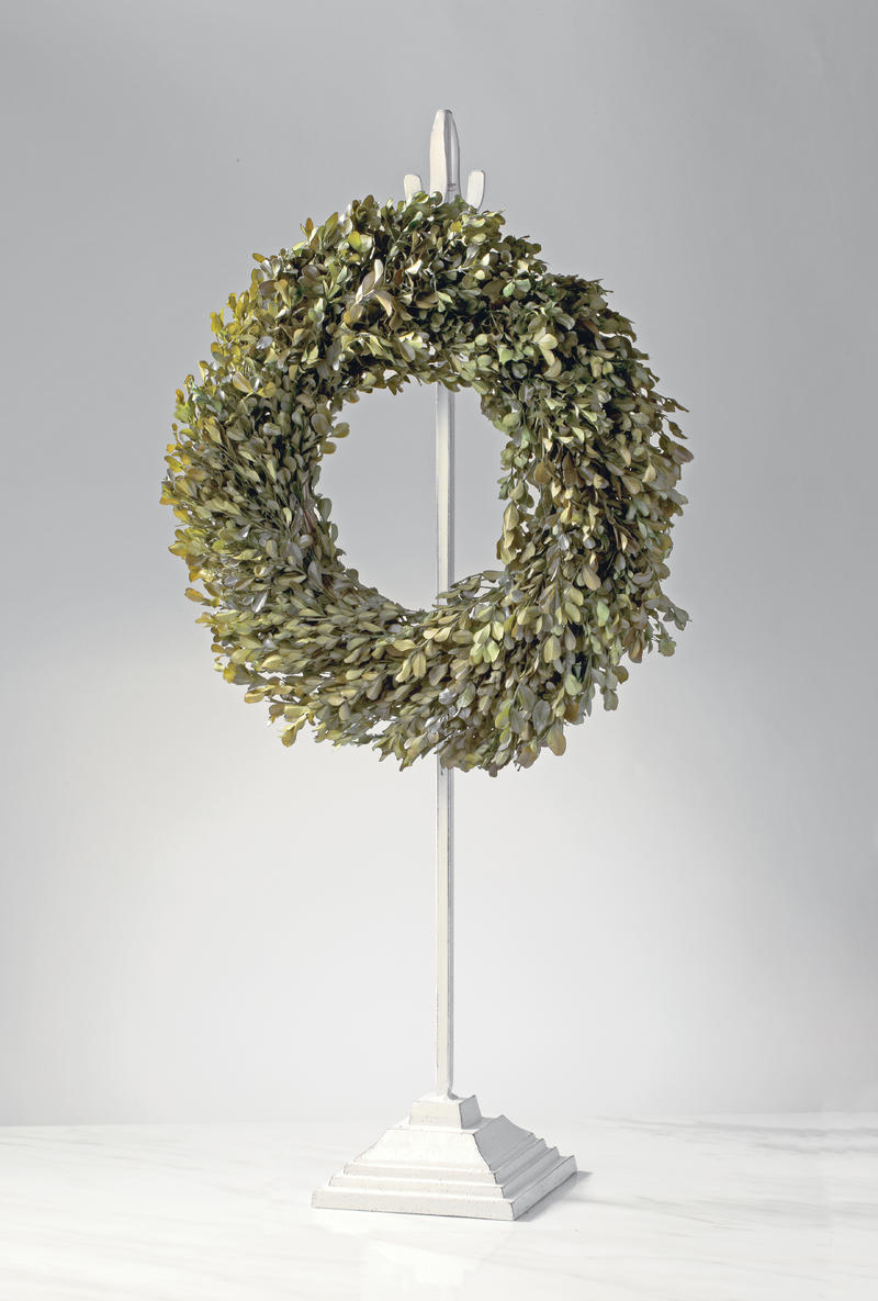Adjustable Double Sided Metal Wreath Hanger - Extra Tall