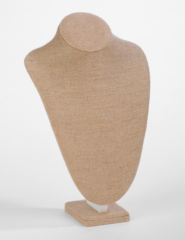 Large Natural Jute Neck Form