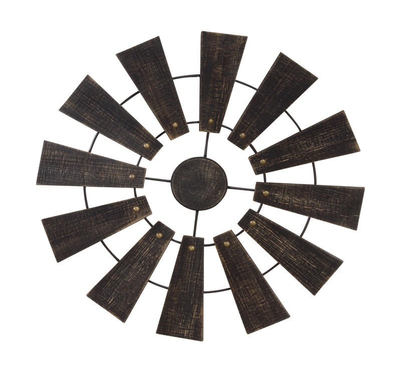 Wall Hanging Windmill Decor