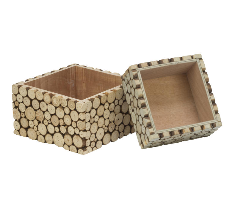 Empress Wood Slice Riser Storage
