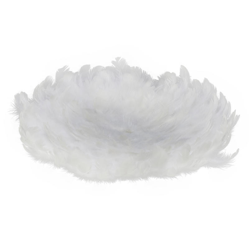 White Feather Placemat