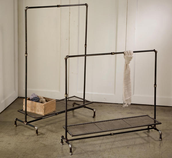 Industrial Metal Display Racks