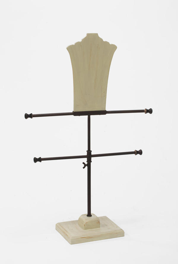 Neck Form 2-Tier T-Bar Display