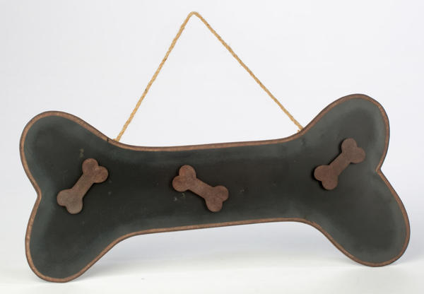 Hanging Dog Bone Chalkboard