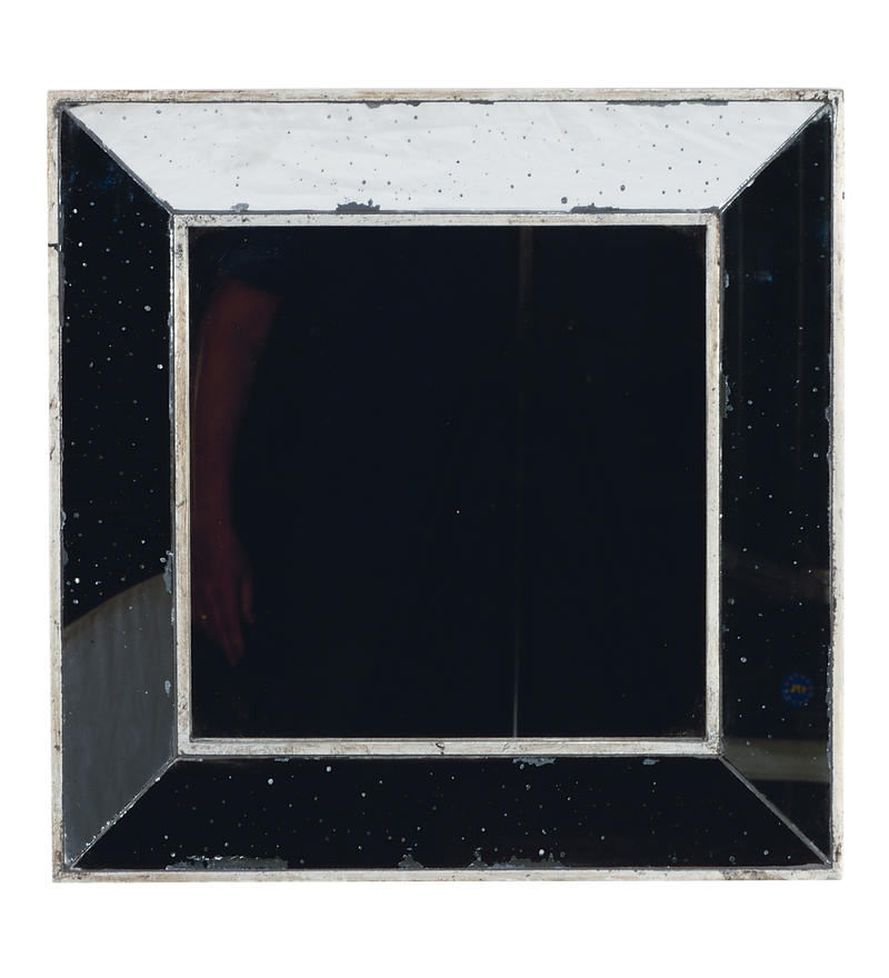 Square Antiqued Mirrors