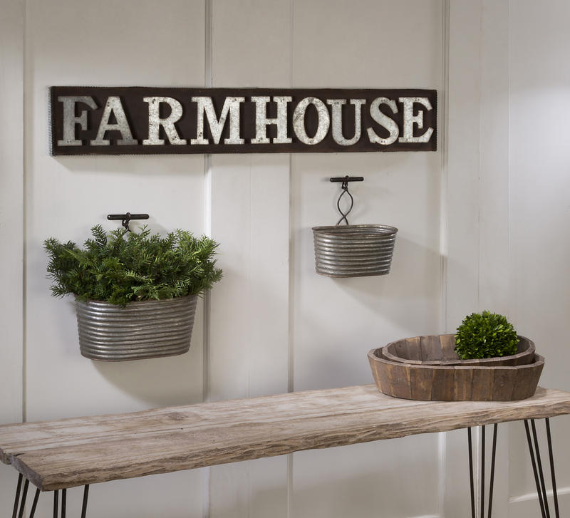 Farmhouse Wall Bins