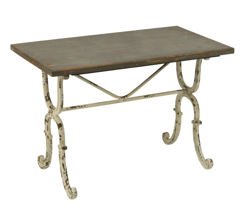 Antiqued Side Table