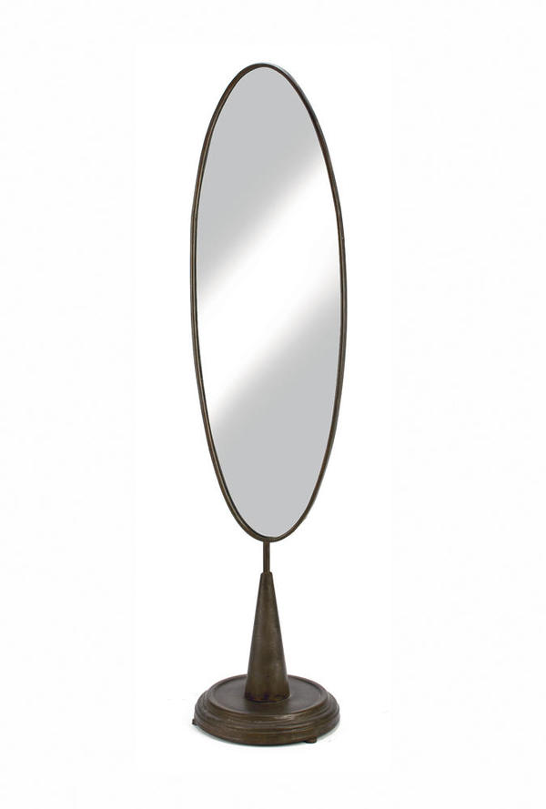 X-Large Industrial Oval Mirror