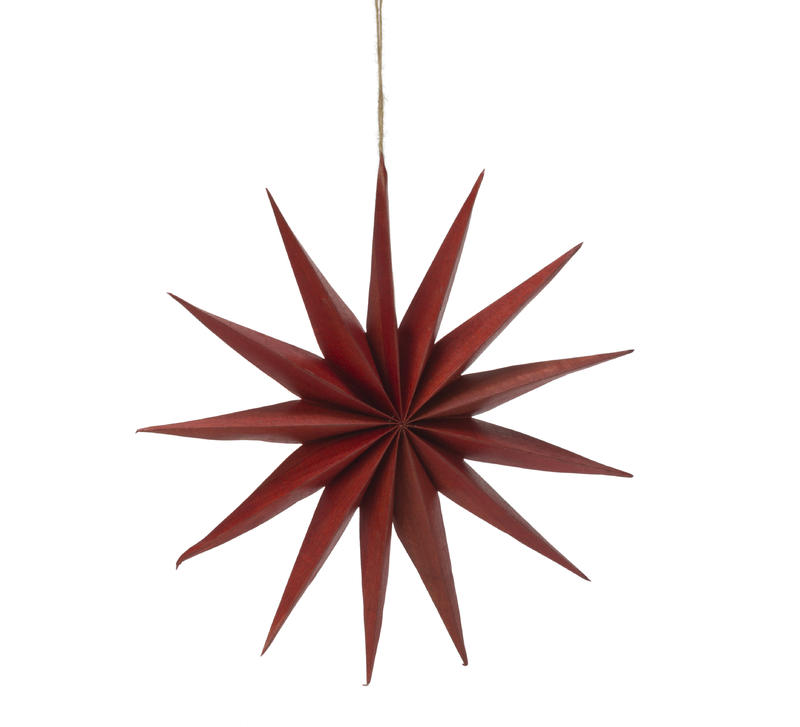 Large Red Multi-Point Star