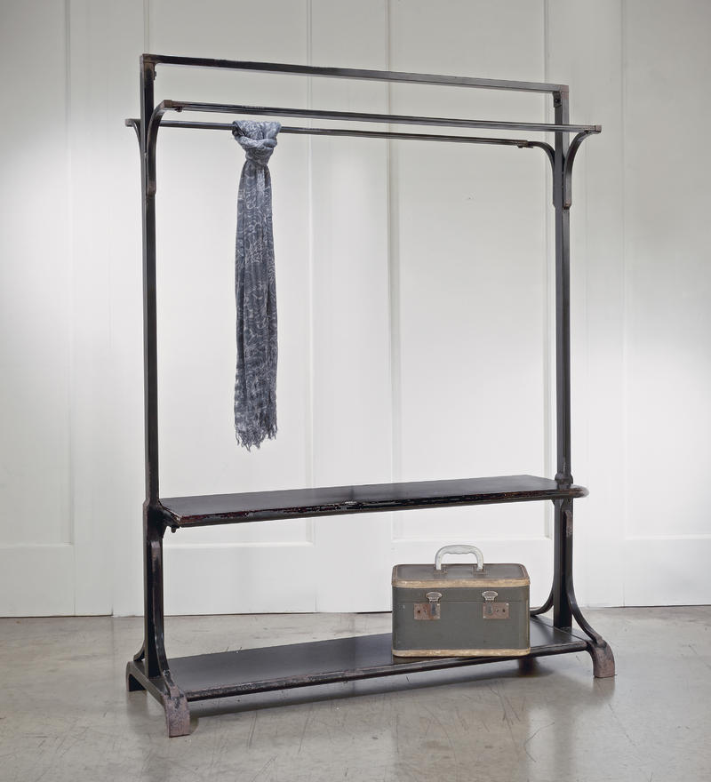 Garment Rack - Distressed Black
