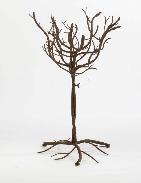 Small Brown Natural Metal Tree