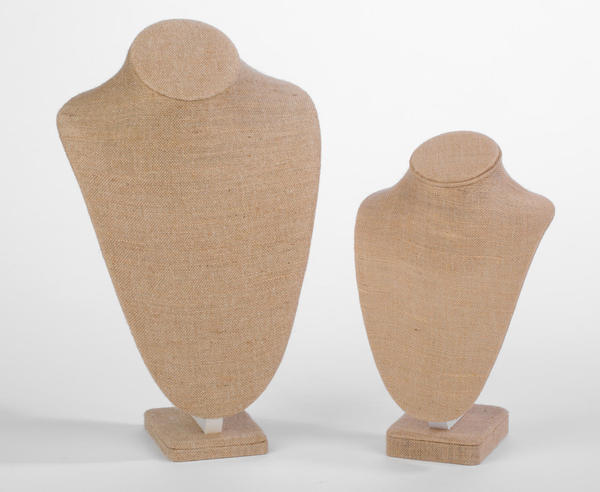 Jute Neck Form Displays