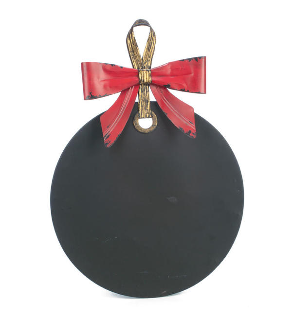 Magnetic Holiday Ornament Chalkboard