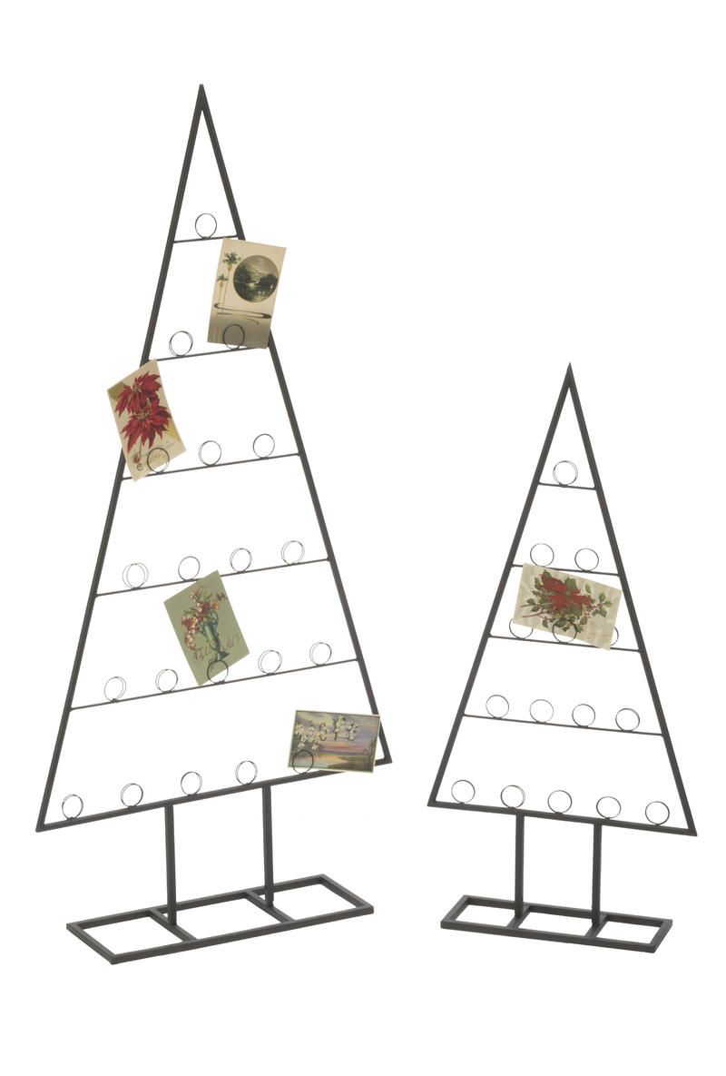 Tabletop Tree Card & Photo Holder, Set of 2