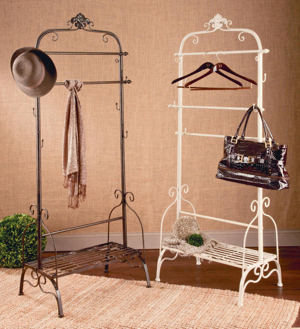 Fashion Display Rack - Cream