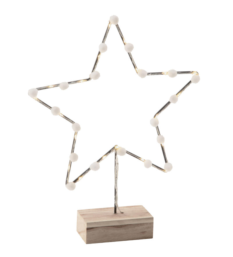 Cotton Star Holiday Decor