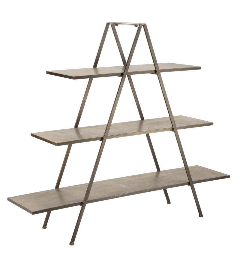 3 Tier A-Frame Display Shelf