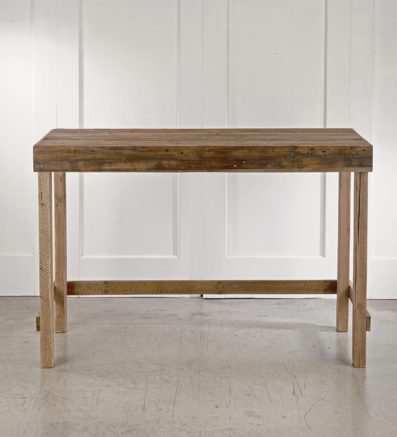 Tall Wood Console Table