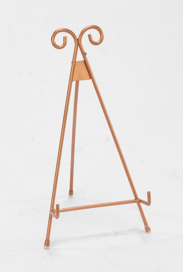Rose Gold Metal Easel - Large