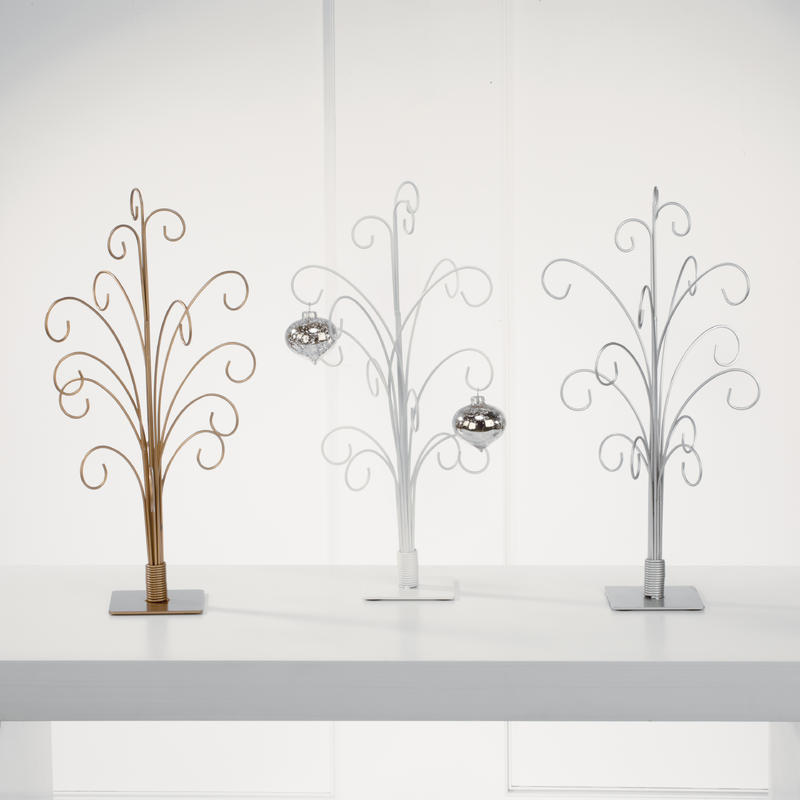 12-Arm Metal Finish Trees