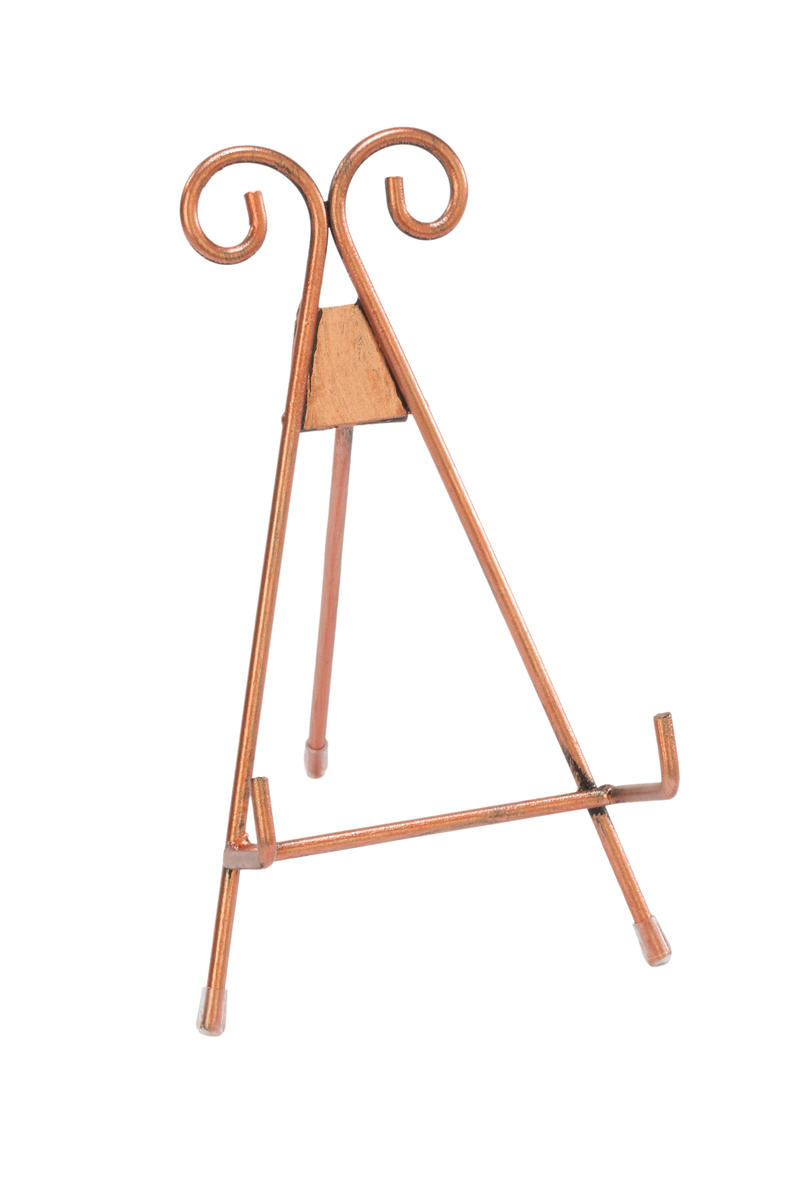 Rose Gold Metal Easel  - Small