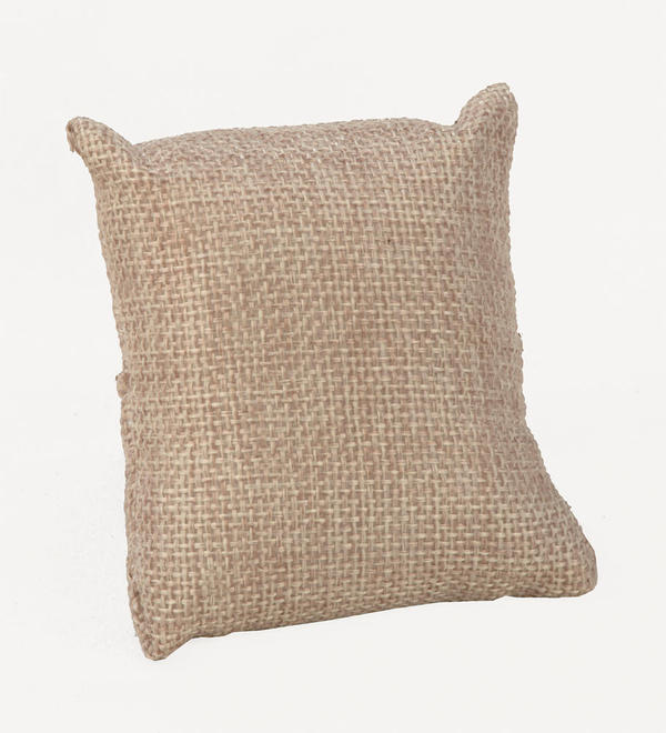 Jute Watch Display Pillow
