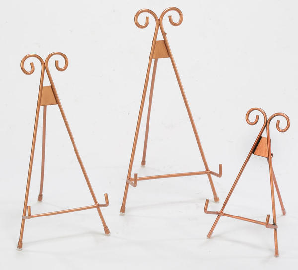 Rose Gold Easels