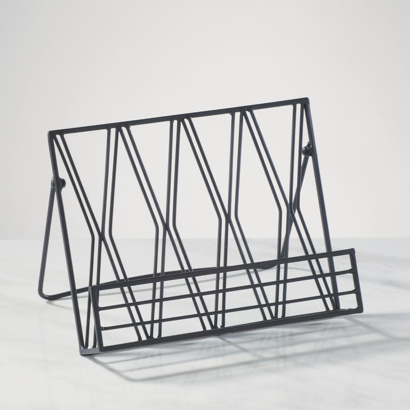 Metal Diamond Cookbook Stand