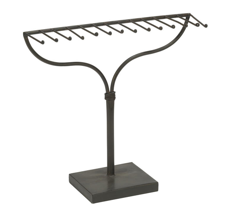 Metal Rake Display Stand