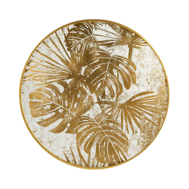 Large Round Palm Wall Decor