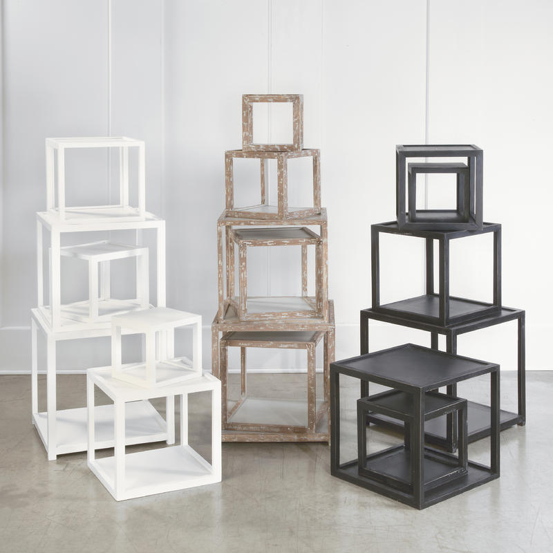 Stack Cube Risers (set of 6)