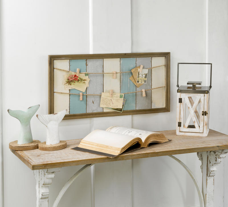 Distressed Wood Note & Photo Frame