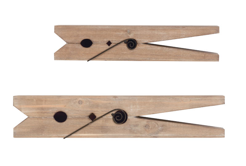 Clothespin Shelf - Set/2
