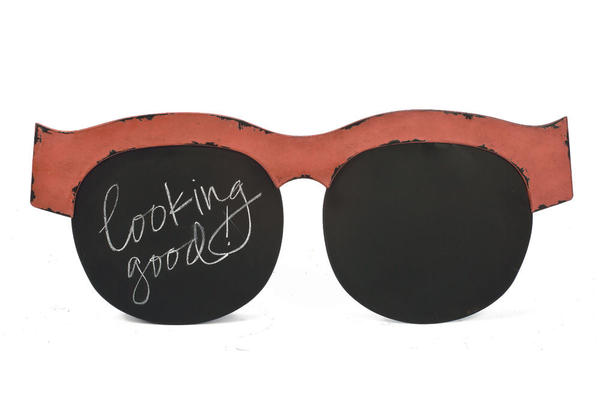 Sunglasses Chalkboard Wall Art