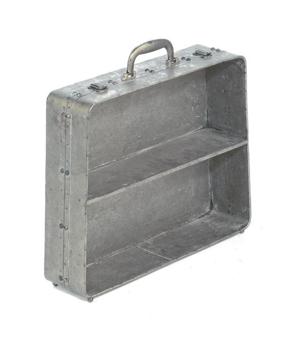 Metal Suitcase Shelf