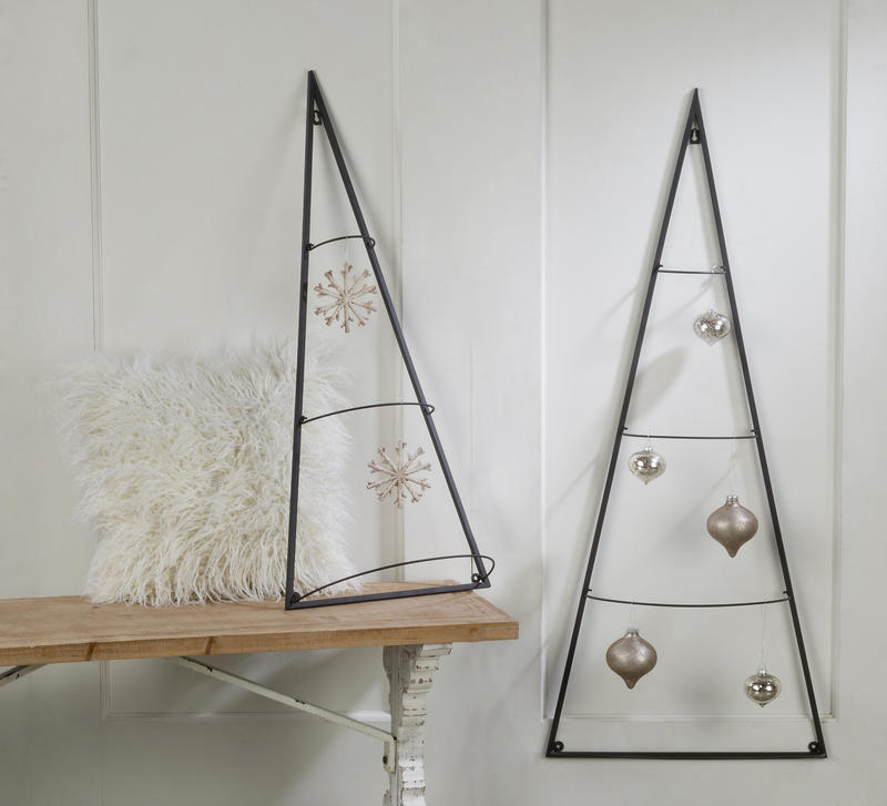 Metal Tree Wall Ornament Holder, Set of 2