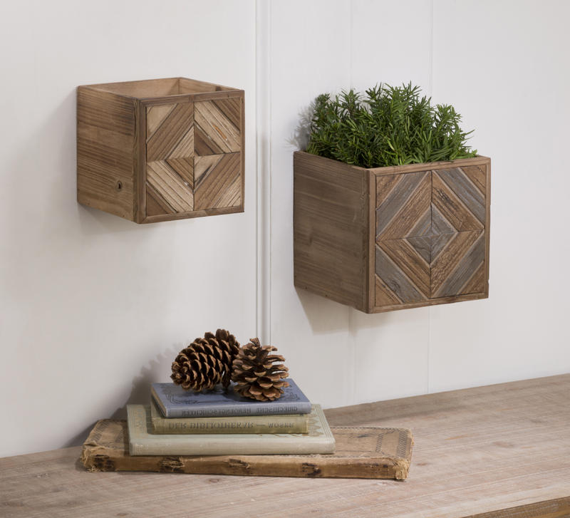 Geometric Open Boxes, Set of 2