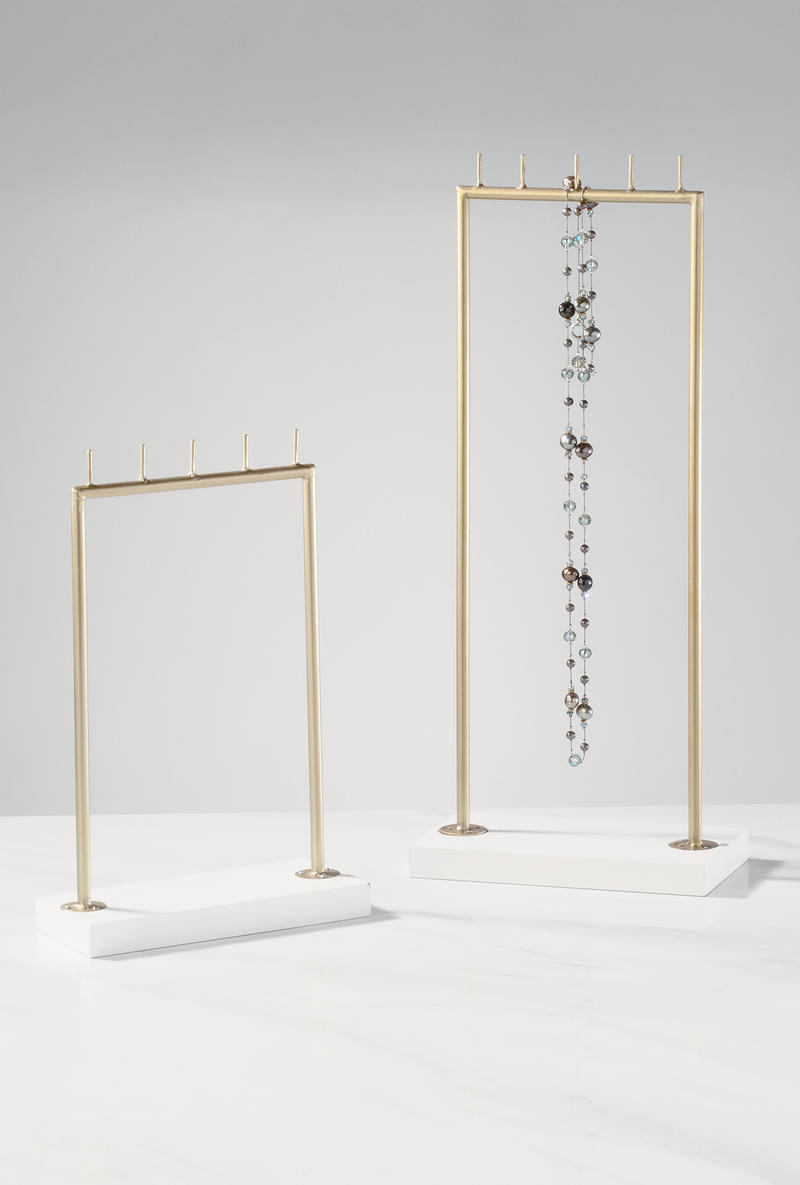 Tall Rectangle Jewelry Display