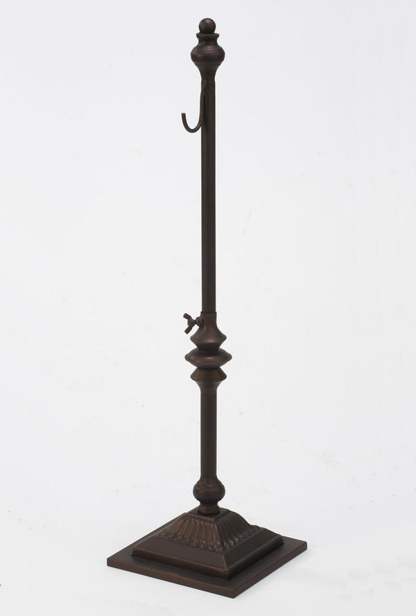 Adjustable Height 1-Hook Metal Hanger