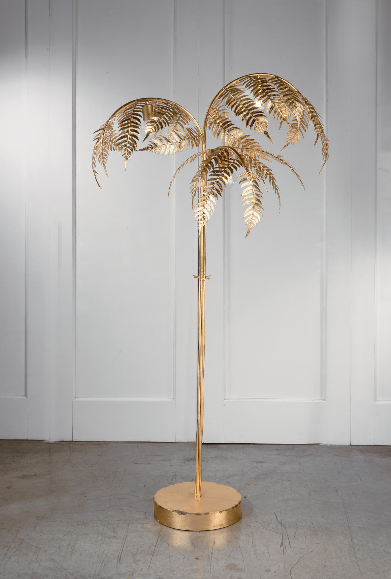 Gold Palm Tree Lamp Tripar International Inc