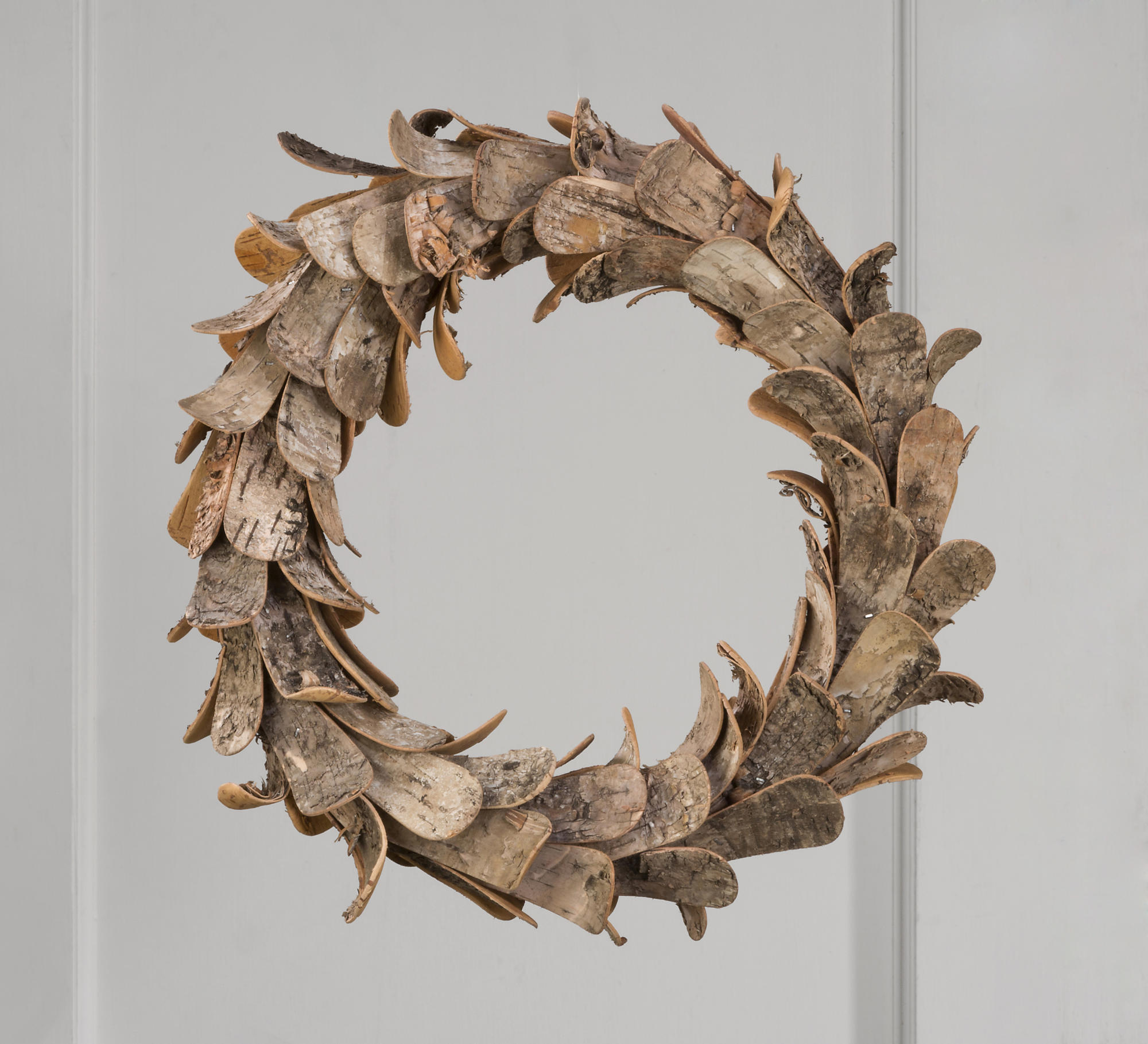 14 Quot Natural Birch Wood Wreath Tripar International Inc
