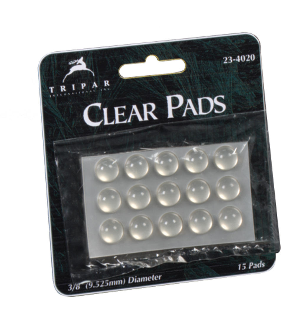 Self Sticking Clear Vinyl Pads 15