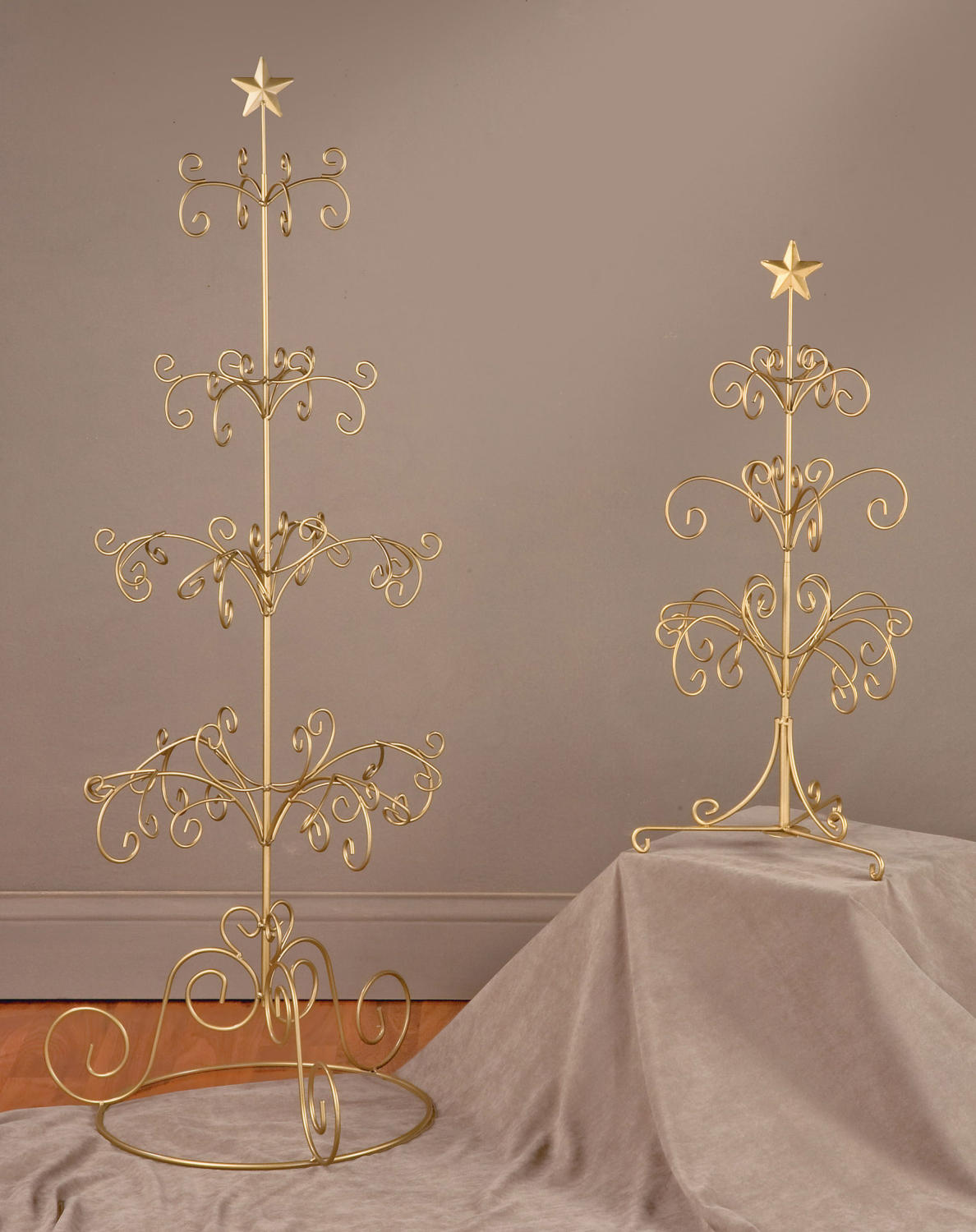 Metal Christmas Tree Ornament Display Promotion-Shop for